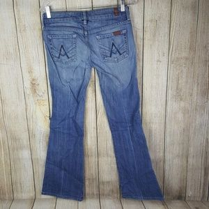 7 Seven for All Mankind A Pocket Flare Jeans 26